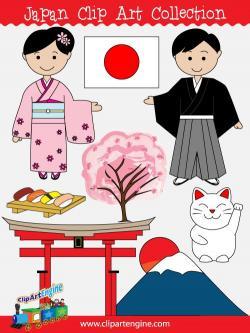 Kimono clipart japanese boy