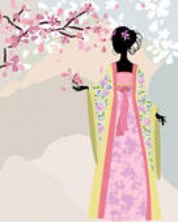 Kimono clipart kartun