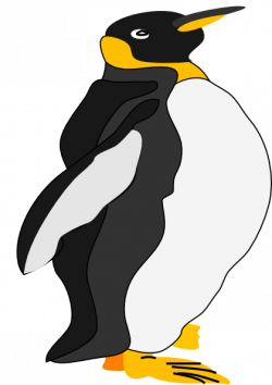 Emperor Penguin clipart cartoon
