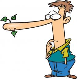 Lies clipart cartoon