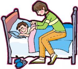 Kisses clipart bedtime