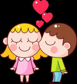 Kiss clipart relationship