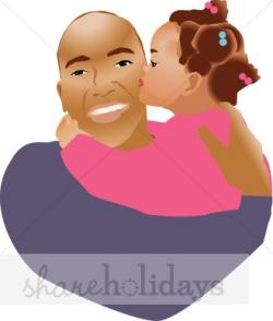 Kisses clipart father's day