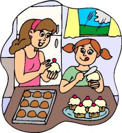 The Kitchen clipart child baking