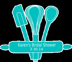Kitchen clipart bridal shower