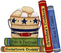 Kitchen clipart cookbook
