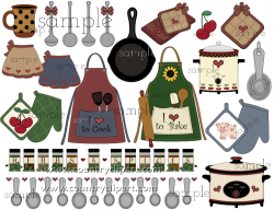 Kitchen clipart cooking club