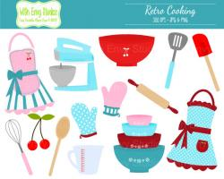 Kitchen clipart cooking material