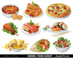 Kitchen clipart food fair