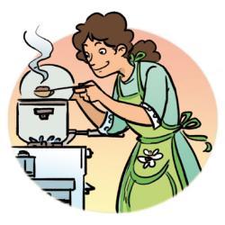Breakfast clipart cook