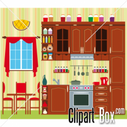Kitchen clipart house room