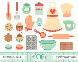 Kitchen clipart kitchen set