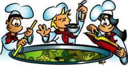 Kitchen clipart kitchen staff