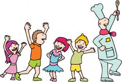 The Kitchen clipart kids cook
