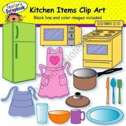 The Kitchen clipart kitchen item