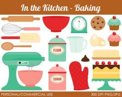 Baking clipart cute