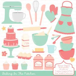 Icing clipart pink apron