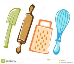 Baking clipart chef tools