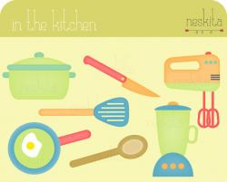 The Kitchen clipart la cuisine