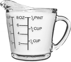Liquid clipart measuring jug