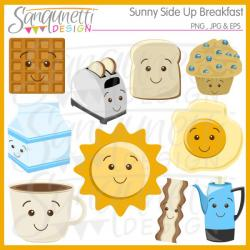 Breakfast clipart morning sun