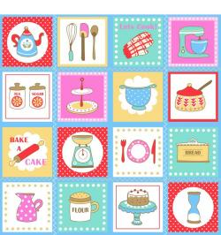 Kitchen clipart printable