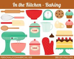 Kitchen clipart recipe