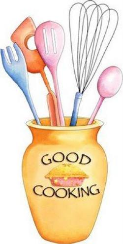 Baking clipart recipe book