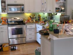 Kitchen clipart unclean