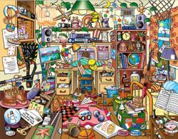 Basement clipart cluttered room