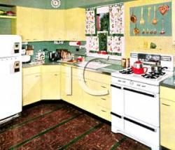 Kitchen clipart view