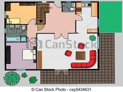 Room clipart apartment