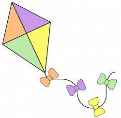 Square clipart kite