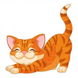 Tabby Cat clipart kitten