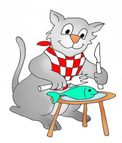 Seafood clipart funny fish