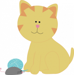 KITTENS clipart cat toy