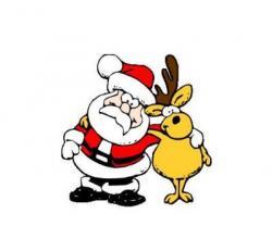 Sick clipart reindeer