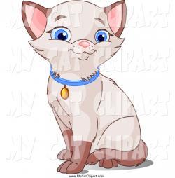 Siamese Cat clipart cute kitty