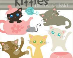 Siamese Cat clipart adorable