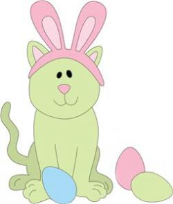 KITTENS clipart easter