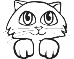 KITTENS clipart kitty face