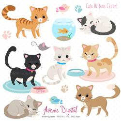 Feline clipart touch
