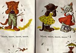 KITTENS clipart shy