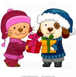KITTENS clipart winter