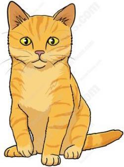 Tabby Cat clipart baby cat
