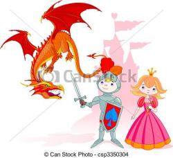 Knight clipart brave
