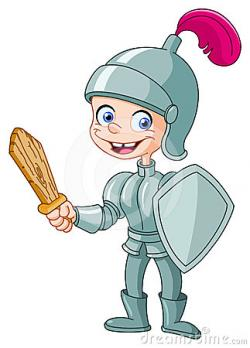 Knight clipart brave kid