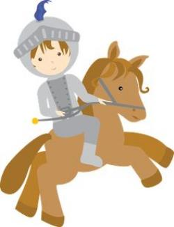 Knight clipart children's book