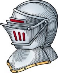 Helmet clipart family crest