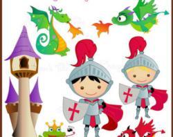Knight clipart fairytale